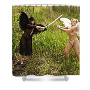 Everglades City Glamour 153 Shower Curtain