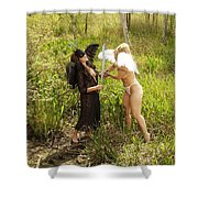 Everglades City Glamour 155 Shower Curtain