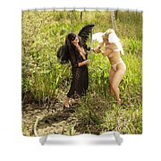 Everglades City Glamour 156 Shower Curtain