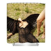 Everglades City Glamour 157 Shower Curtain