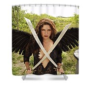 Everglades City Glamour 172 Shower Curtain
