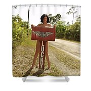 Everglades City Photographer 432 Shower Curtain