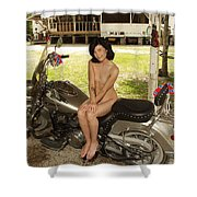 Everglades City Photography By Lucky Cole Shower Curtain