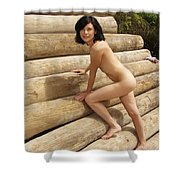Everglades City Photography Shower Curtain
