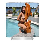Everglades City Professional Photographer 351 Shower Curtain