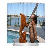Everglades City Professional Photographer 368 Shower Curtain