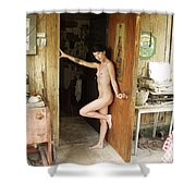 Everglades City Professional Photographer 704 Shower Curtain