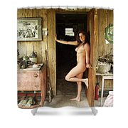 Everglades City Professional Photographer 707 Shower Curtain