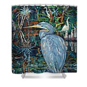 Everglades Shower Curtain
