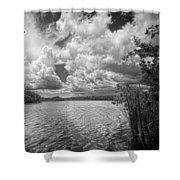 Everglades Lake - 0278abw Shower Curtain
