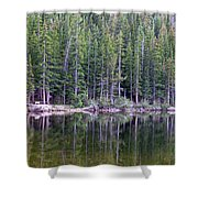 Evergreen Reflections Shower Curtain