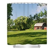 Evergreen Trails 7525 Shower Curtain