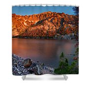 Everson Lake Shower Curtain