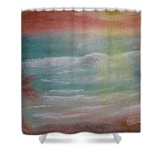 Every Breaking Wave Shower Curtain