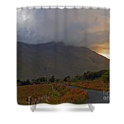 Every Cloud Has A Silver Lining Shower Curtain