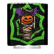 Every Day Is Halloween Shower Curtain