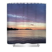 Every Morning Is Different - Toronto Skyline With An Awesome Cloudbank Shower Curtain