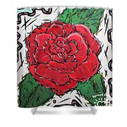 Every Rose Has Its Thorns Shower Curtain