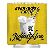 Everybody Eatin Shower Curtain