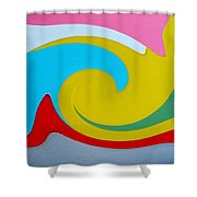 Everybody Has A Cousin In Miami Two Shower Curtain