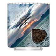 Everyday Is An Adventure Shower Curtain