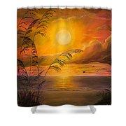 Everyday Sunrise Shower Curtain