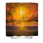 Everyday Sunrise Shower Curtain