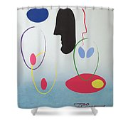 Everyones Talking And No One's Listening Shower Curtain