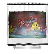 Everything Has A Journey Shower Curtain