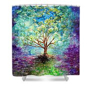 Everything Is An Opportunity To Practice New Beginnings  Shower Curtain