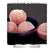 Everything Is Just Peachy Shower Curtain