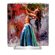 Eve's Dance Shower Curtain