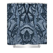 Evolutionary Branches Shower Curtain