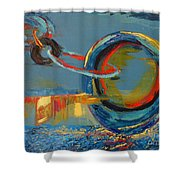 Evolving Sense Shower Curtain