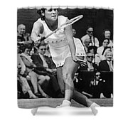 Evonne Goolagong (1951- ) Shower Curtain by Granger