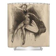 Ex Libris C. Patel Shower Curtain