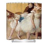 Examen De Danse-dance Examination Shower Curtain