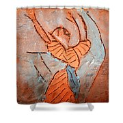 Exclaim - Tile Shower Curtain