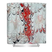 Exclamation Shower Curtain