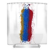 Exclamations 3 Shower Curtain