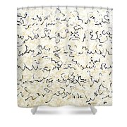 Executive Summary With Notes Shower Curtain