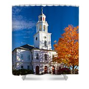 Exeter Congregational Church Shower Curtain