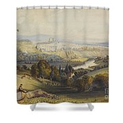 Exeter From Exwick, 1773 Shower Curtain