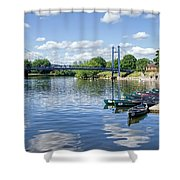 Exeter Quays 2 Shower Curtain