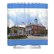 Exeter Town Hall Shower Curtain