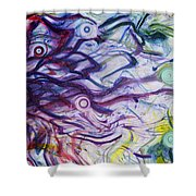Exhalation Shower Curtain