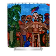 Exiled In Homeland Shower Curtain