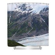 Exit Glacier Shower Curtain