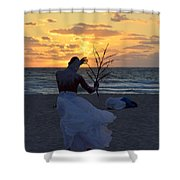 Exorcism Facing The Sea Shower Curtain