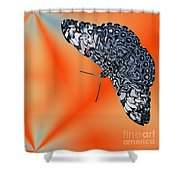 Exotic Abstract Shower Curtain